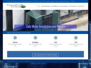 Website design-electrical fire fly